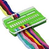 30 Positionen N/ähen Nadel Pins Halter Kreuzstich Projekt Gewidmet Handwerkzeug Stickgarn Thread Organizer Green