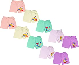 Sathiyas Akash 100% Cotton Unisex Baby Drawer's - Pack of 10