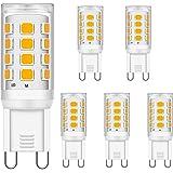 Brantoo LED G9 Ampoules 3W Blanc chaud 2700K équivalent à 15W 20W 25W 28W 33W halogène Ampoules, CRI> 85, G9 Prise LED Lampe,