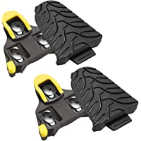TacoBey Bike Cleats Compatible with Shimano Cleats,Cycling Pedals Cleat for SPD (SH-10 SH-11SH-12) System Shoes - Indoor…