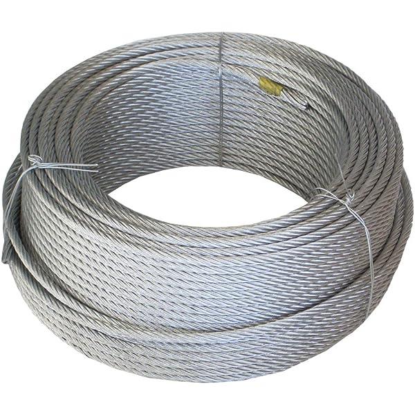Wurko 12014008 Cable trenzado, 6 mm: Amazon.es: Bricolaje ...