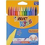Bic Kids Plastidecor Crayons - 12 Pieces
