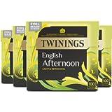 Twinings English Afternoon Tea 400 Tea Bags (Multipack of 4 x 100 Tea Bags)