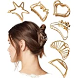 VAGHBHATT Metal Multi Design Hair Claw Clips for Women, Hair Catch Banana Clips Hair Clips for Women Clamp Hair Accessories f