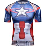 Cody Lundin T-Shirt Red Spider Hero Tight pour Hommes Tops Fitness Top T-Shirt extérieur