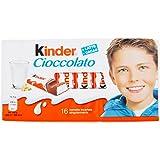 Kinder Cioccolato - 5 confezioni da 16 Pezzi