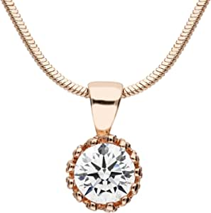 MYA art Select Damen Schmuck in Rosegold Vergoldet mit Swarovski Elements Kristall