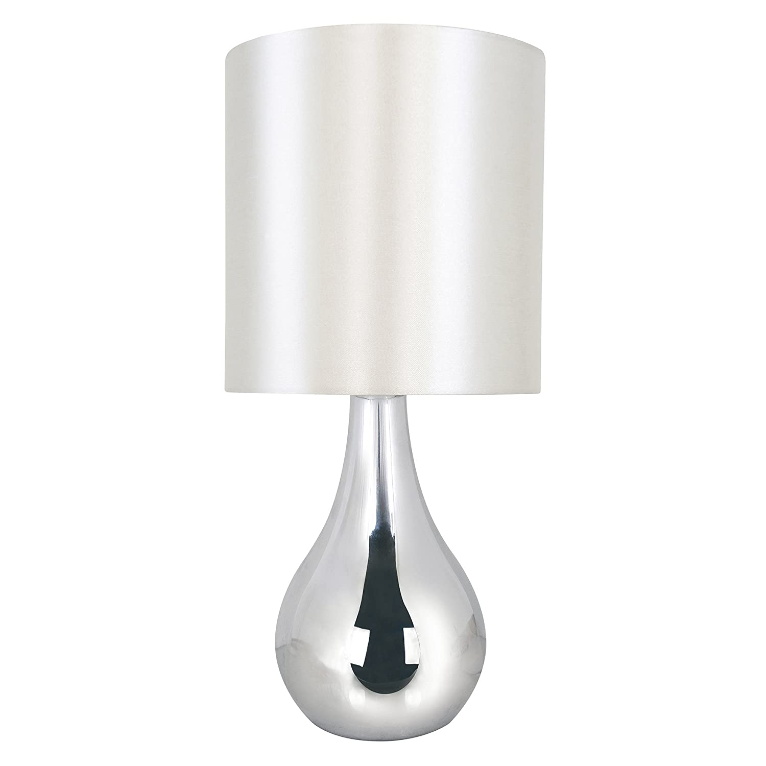 Lloytron Eclipse Touch Table Lamp, Chrome: Amazon.co.uk: Lighting