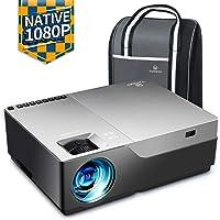 Videoprojecteur, VANKYO 6500 Lumens Projecteur 1920x1080P Full HD Mini Retroprojecteur Portable Son HiFi Stéréo, HDMI VGA AV USB pour Home Cinéma& Présentation PPT