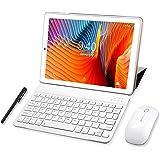 Tablet 10 Pulgadas YOTOPT, 4GB de RAM y 64 GB de Memoria 4G LTE Tableta Android 9.0 Certificado por Google GMS Dobles SIM y T