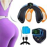 Electroestimulador Muscular Gluteos,EMS Gluteos Estimulador,HipTrainer,Estimulador Muscular Ejercitar Gluteos USB Recargable