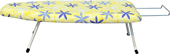 ATHENACREATIONS Ironing Board with Safety Lock(76x32x22cm, Multicolour)