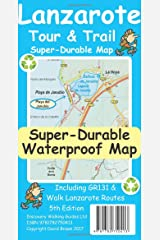 Lanzarote Tour & Trail Super-Durable Map Map