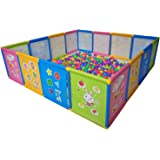 Playpen Portable Kids Safety Play Center Yard Home Indoor Fence Anti-Fall Play Pen, Playpens for Babies, Extra Large Playard,
