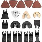 WORKPRO 25-delige mix oscillerende zaagbladen Multi-tool bladen Zaagblad Snelsluiting voor Makita Multitools Milwaukee Einhel