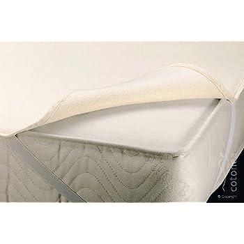 cotonea molton matratzenauflage bio baumwolle 120x200 cm k che haushalt. Black Bedroom Furniture Sets. Home Design Ideas