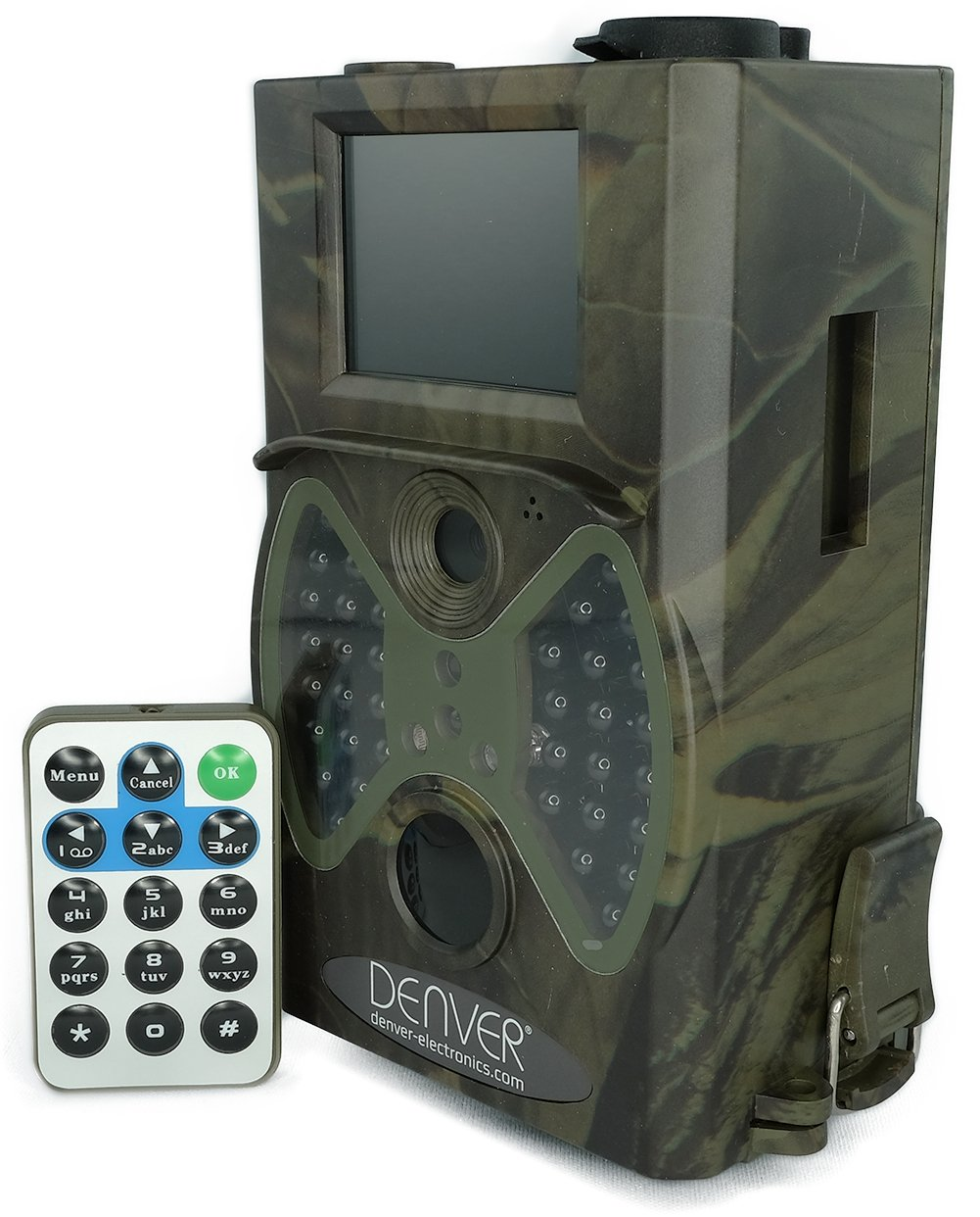 Denver WCT-5003 Outdoor Motion Activated Wildlife Camera Trail Camera With Infrared Night Vision, Movement Sensor & Remote