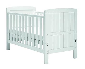 East Coast Austin Cot Bed White Amazoncouk Baby