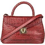 Hidesign Women's Satchel (Red)