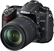 Nikon D7000 Digital SLR Camera with 18-105mm VR Lens Kit (16.2MP) 3 inch LCD (Renewed)