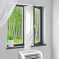 MYCARBON Fensterabdichtung für mobile Klimageräte 300cm ohne Bohren klimaanlage fensterabdichtung für Wäschetrockner…