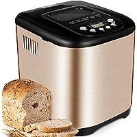 Yabano Acier Inox Machine à pain, 15 en 1 Automatiques Machines à Pain avec Pot en Céramique Antiadhésif, Machines Pain…