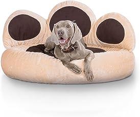 Hundebett in S-M XL oder XXL Knuffelwuff Pfote - Extra weich gepolstert