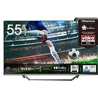 Hisense 55U7QF QLED 139 cm (55 Zoll) Fernseher (4K ULED HDR Smart TV, HDR 10+, Dolby Vision & Atmos, Full Array Local…