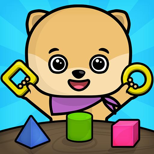 Juegos de bebés y niños gratis - puzzle educativo