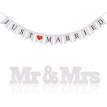Kakoo Mr Mrs Buchstaben Zeichen Hochzeit Tisch Dekoration Mit Just