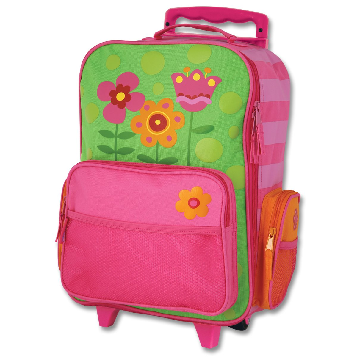 Stephen Joseph Little Girls' Rolling Luggage - Flower: Varios ...