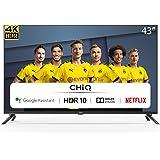 CHiQ U43H7A - 43 inch 4K Ultra HD - Android 9.0 - Chromecast - Dolby Audio