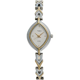 Timex Analog Silver Dial Women's Watch   LS20