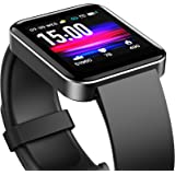 TOZO S1 Smart Watch Bluetooth 5.0 Activity Tracker with Heart Rate Monitor Sleep Monitor Pedometer and Calorie Counter IPX8 W