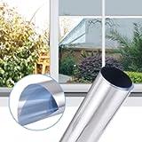 Gimars Pellicola Specchio Oscurante da Finestre Vetro Pellicola Autoadesivo 99% Anti-UV Protezione Privacy…
