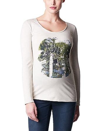 Noppies Women's Tee Ls Dora Long Sleeve Long Sleeve Top: Amazon.co.uk:  Clothing