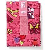 Roll 'eat Boc'n'Roll sandviktsväska för barn, i prinsessans innerrosa, återanvändbar, BPA-fri