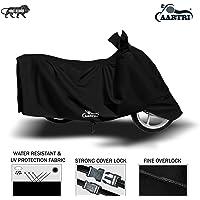 XG Brand Premium Two Wheeler Body Cover Special Design for Honda Activa 6G (Black)