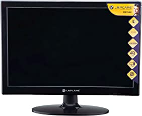 "LAPCARE 15.4"" Slim 720p HD LED Monitor (VGA + HDMI)"