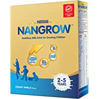 Nestle Nangrow Nutritious Milk Drink for Growing Children- 2-5 years, Creamy Vanilla, Bag-In-Box, 400g