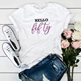 Hello t-shirt / 30th 40th 50th birthday party shirt / 50th years old tee