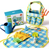Tasche und Gartenwerkzeug Hobbysc Kinder Gärtner Schürze Elefant Gartenset inkl