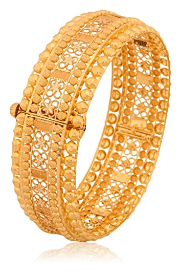 Buy Senco Gold 22k Yellow Gold Bangle Online at Low Prices in