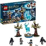 LEGO HarryPotter ExpectoPatronum, Setcon 4 Minifigure e la Figura del Cervo Patronus, 75945