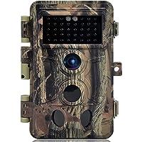 DIGITNOW! Caméra de Chasse 16MP 1080P IP66 Étanche, Caméra Surveillance avec 40Pcs LED Vision Nocturne Infrarouge Jusqu…