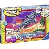 Ravensburger Malen nach Zahlen 28907 Welt der Delfine