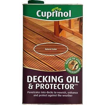 Cuprinol UV Guard Decking Oil Natural Cedar 5L