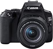 Canon EOS 250D + Canon EF-s 18-55mm f/4-5.6 IS STM Lens - Black
