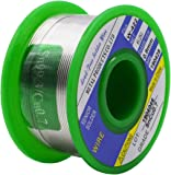 Solder Wire Lead Free Sn99.3 Cu0.7 with Rosin Core for Electrical Soldering 0.8mm Net Weight 50g