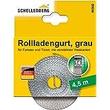 Schellenberg 44502 rolluikriem 14 mm x 4,5 m - systeem MINI, rolluikriem, riem, rolluikband